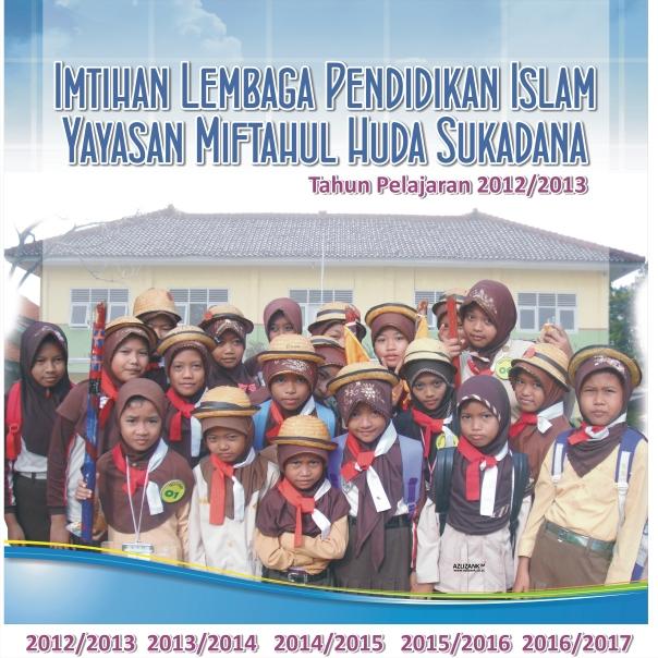 Spanduk Imtihan MI Miftahul Huda 2012