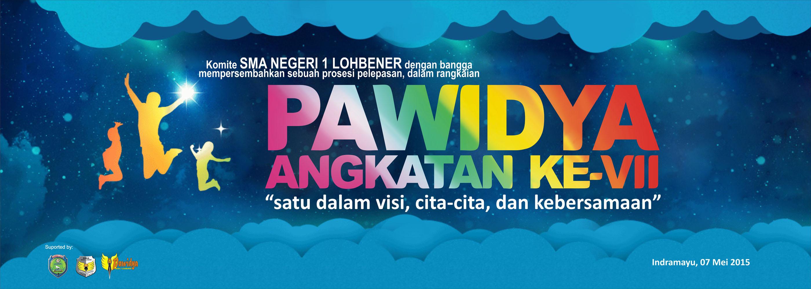 Design banner wisuda - Spanduk Perpisahan Sekolah Wisuda Pawidya Untuk Di Panggung