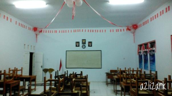 Dekorasi Kelas HUT RI ke 71 azli  zank